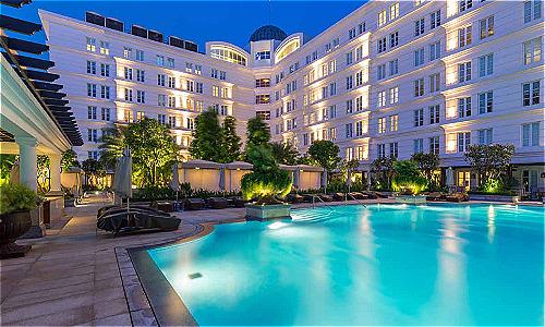 Khách sạn vào top tốt nhất thế giới ở Việt Nam có 252 phòng. Ảnh: TripAdvisor.