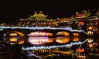 Ba lần thót tim của nhóm khách Việt khi đi Phượng Hoàng cổ trấn