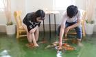 Quán cà phê có cá bơi dưới chân khách ở Sài Gòn lên báo nước ngoài