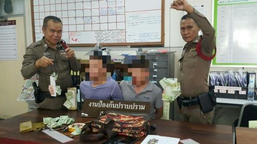 Hai nghi phạm từ chối thú nhận tội ăn cắp. Ảnh:The Nation.