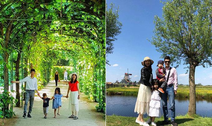 Bố Việt chi 180 triệu đưa vợ con du lịch 9 nước châu Âu