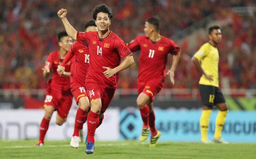 Đội tuyển Việt Nam đang giữ thành tích bất bại từ đầu mùa AFF Cup 2018.