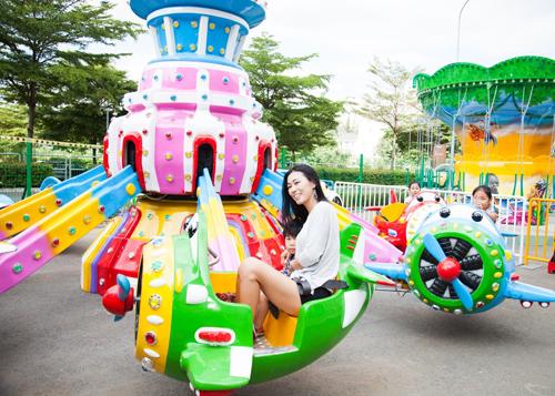 Công viên sẽ ra mắt vào ngày 1/12 tại 227 Hà Huy Giáp, phườngThạnh Lộc, quận 12, thuộc hệ thống khu vui chơi Just Kidding, hứa hẹn là điểm đến cho người TP HCM và các tỉnh, thành phố lân cận.