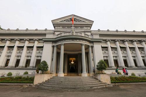 Bảo tàng TP HCM là điểm đến yêu thích của nhiều bạn trẻ Sài Gòn. Ảnh: Quỳnh Trần.