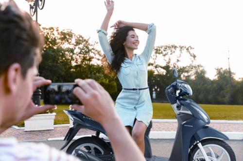 Lựa chọn xe máy trên hành trình, bạn có thể chủ động lộ trình, thời gian và điểm dừng nghỉ.