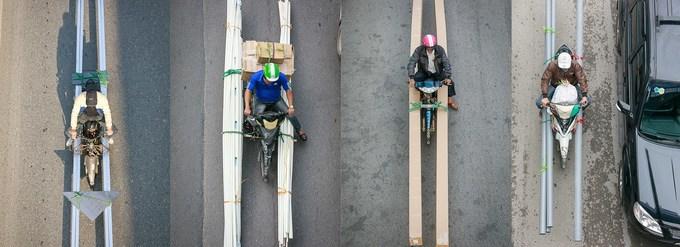 Góc nhìn về giao thông Hà Nội qua loạt ảnh 'bộ tứ siêu đẳng'