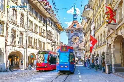 Ưu đãi 5 triệu đồng tour liên tuyến Thụy Sĩ - 2