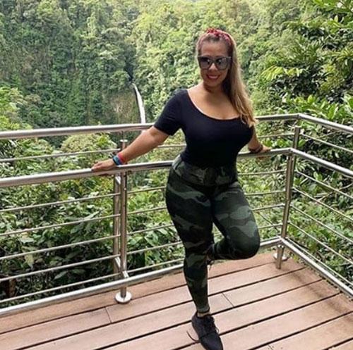 Carla đã rất vui vẻ trong chuyến đi với chị dâu ở Costa Rica. Ảnh: News.