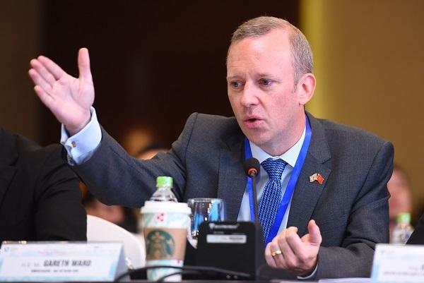 Ông Gareth Ward đưa ra lời khen ngợi về tốc độ tăng trưởng khách du lịch của Việt Nam.