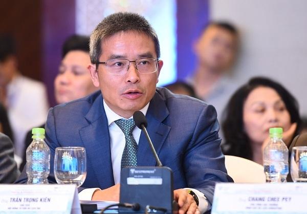 Trần Trọng Kiên - Chủ tịch Hội đồng Tư vấn Du lịch (TAB) phát biểu bế mạc.