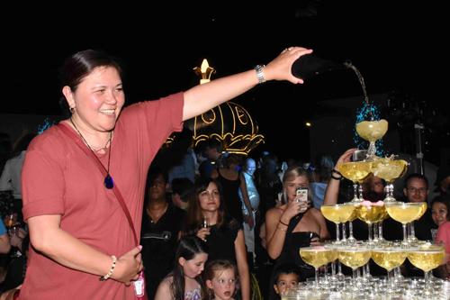 Tiệc Giao thừa trên tầng thượng khách sạn gần 100 năm ở Sài Gòn - ảnh 4