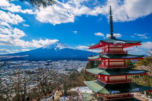 Blue Sky tặng vé máy bay khứ hồi khi mua tour Nhật Bản - ảnh 1