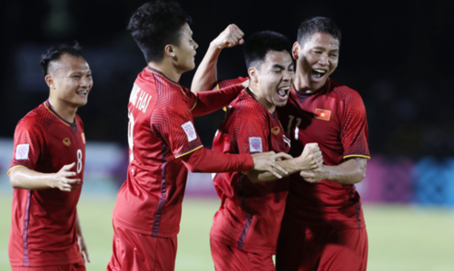 Tuyển Việt Nam bất bại từ đầu mùa giải AFF Cup đến nay. Ảnh: Đức Đồng.