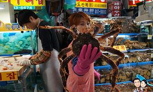Bên trong khu chợ hải sản lớn nhất thủ đô Seoul