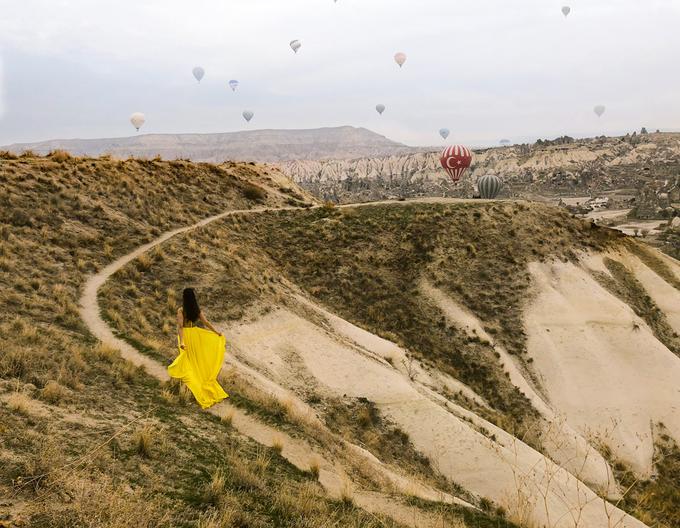 Nữ CEO Việt hóa công chúa giữa thung lũng khinh khí cầu