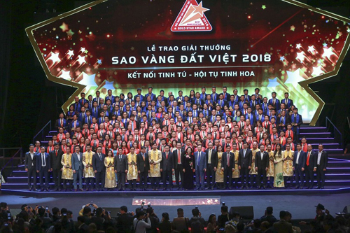 Giải thưởng tôn vinh 200 doanh nghiệp tiêu biểu của Việt Nam.