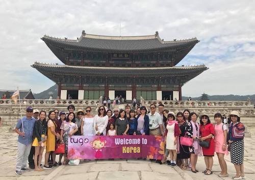 Tour du lịch Hàn Quốc cùng Tugo. Ảnh: Tugo.