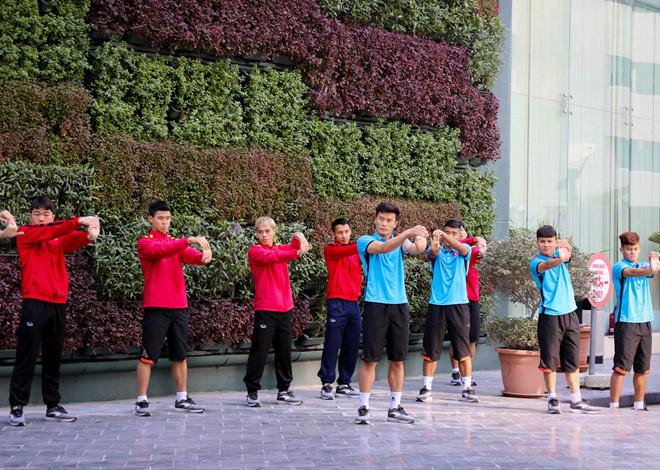 Bên trong khách sạn 4 sao tuyển Việt Nam ở tại Qatar