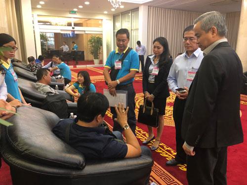 9 trong tổng số 15 khách Việt bị đánh bom ở Ai Cập đã về nước vào chiều 1/1. Ảnh: Saigontourist.