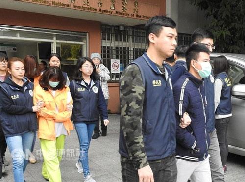 Đài Loan kêu gọi những người biến mất của đoàn khách Việt ra trình diện. Ảnh: CNA.