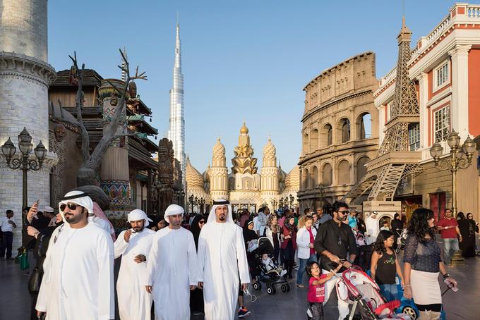 Trong lòng Dubai, thành phố xa hoa của Trung Đông