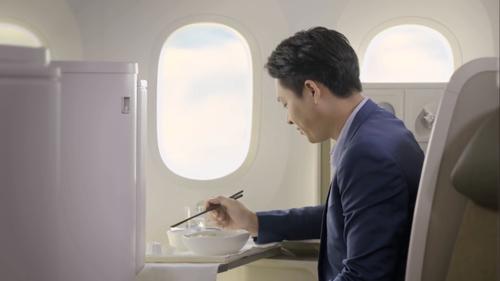 Phở là sự lựa chọn hàng đầu của hành khách trên những chuyến bay quốc tế của Vietnam Airlines.