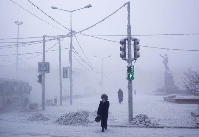 Mùa đông ở thành phố lạnh nhất hành tinh