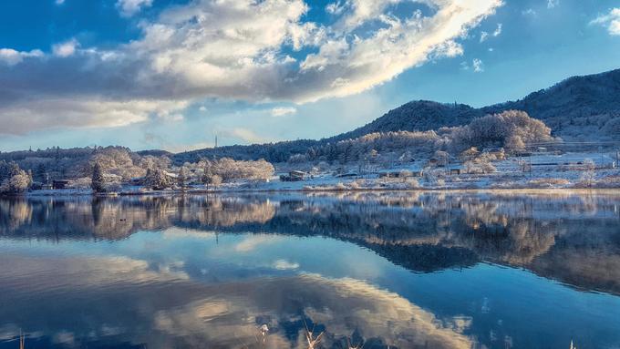 Ngôi làng đẹp như cổ tích nhưng ít người biết ở Nhật Bản