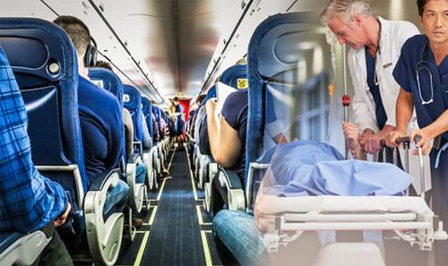 Nhiều hãng bay sẽ cố gắng để người chết ngồi với tư thế như đang say ngủ, để đánh lạc hướng các hành khách khác. Ảnh: BI.