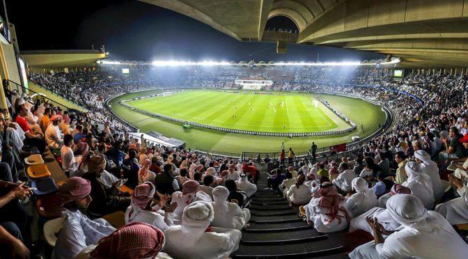 Công trình được lấy theo tên của Tổng thống UAE, Sheikh Khalifa bin Zayed Al Nahyan. Năm 2009, nơi đây được tu sửa lại cho thêm phần hoành tráng, quy củ. Sân vận động cũng xuất hiện trên mặt sau của tờ tiền 200 Dirham của UAE. Ảnh: Weetas.