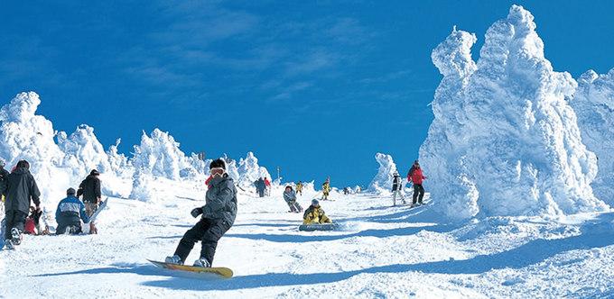 6 địa điểm trượt tuyết nổi tiếng nhất ở Nhật Bản