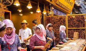 Khám phá ẩm thực ở phố Hồi giáo lớn nhất Trung Quốc