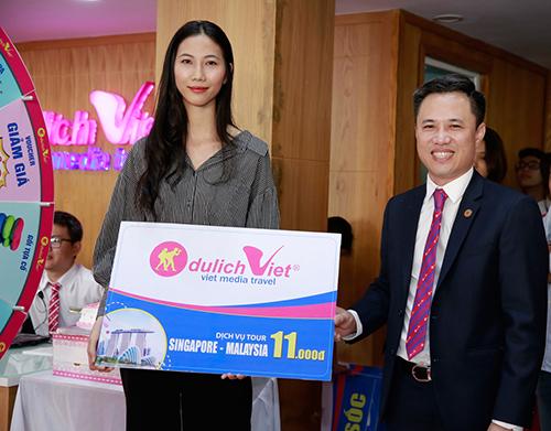 Người mẫu Cao Ngân trúng tour 11.000 đồng tại Du Lịch Việt - ảnh 2