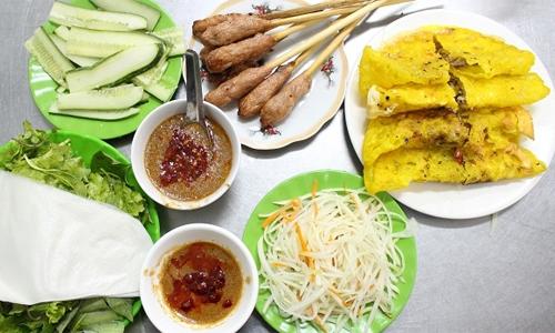 Hàng bánh xèo Đà Nẵng được khách Tây khen ngon