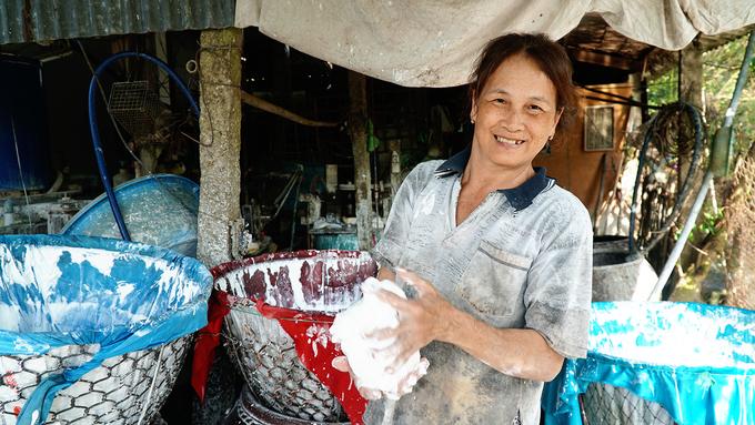 Làng bột lâu đời ở Sa Đéc làm việc gấp ba ngày thường để đón Tết