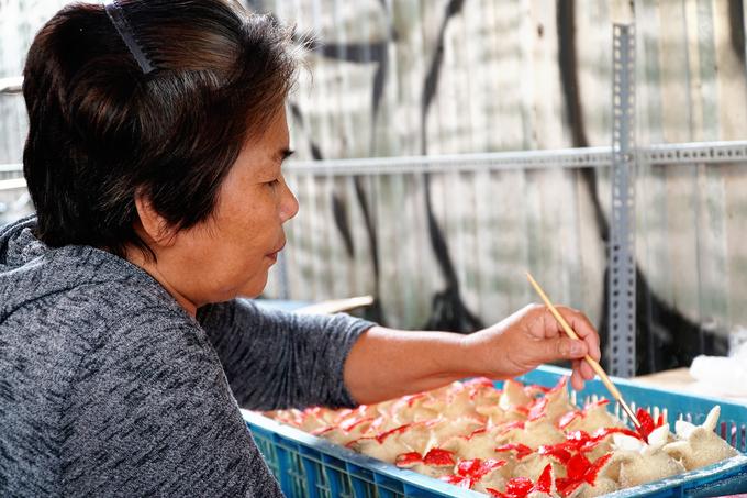 Bánh 'cầu duyên' chỉ bán vào ngày Tết của người Hoa ở Sài Gòn