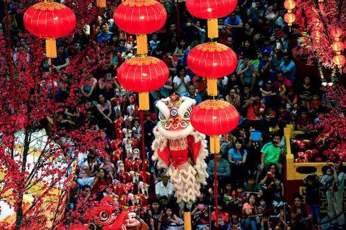 Tết truyền thống của người Việt. Ảnh: pinterest.