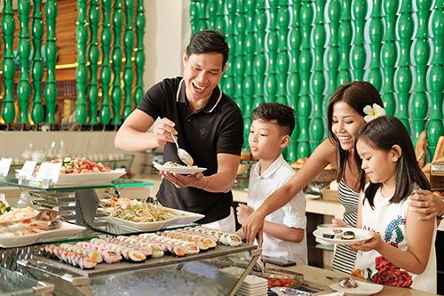 Khu nghỉ dưỡng đặc biệt phù hợp với các gia đình đi du lịch cùng nhau.