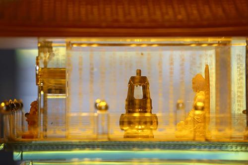 Chiêm bái xá lợi Phật trong lòng Đại Tượng Phật cao nhất Việt Nam - 1