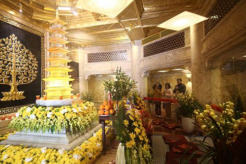 Chiêm bái xá lợi Phật trong lòng Đại Tượng Phật cao nhất Việt Nam - 10