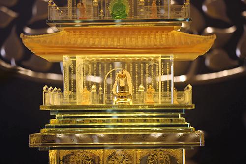Chiêm bái xá lợi Phật trong lòng Đại Tượng Phật cao nhất Việt Nam - 2