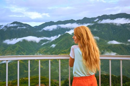Núi non hùng vĩ tại Sa Pa. Ảnh: Tabea Mathern.