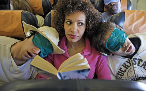 If you change air seats, passengers can put themselves to a difficult place. Images: Travel + Leisure.