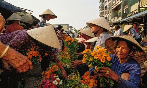 Chợ hoa miền Tây năm 1991 được tạp chí Mỹ giới thiệu