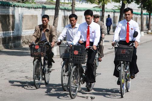 Cuộc sống thường nhật ở Triều Tiên qua ống kính du khách Việt. Ảnh: Quỷ Cốc Tử.