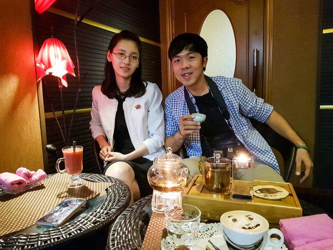 Trải nghiệm bất ngờ của khách Việt đi cà phê đêm ở Triều Tiên
