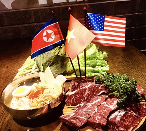 Suất mì lạnh Triều Tiên hiện có giá