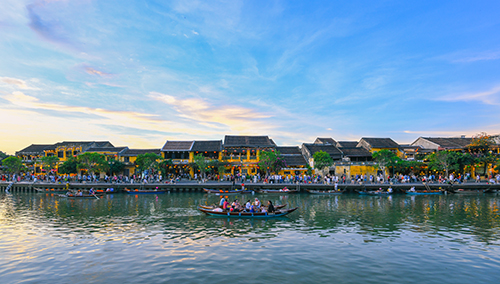 Hội An, Đà Nẵng là những điểm đến hot trong mắt du khách trong và ngoài nước những năm gần đây. Ảnh: Kiều Dương.