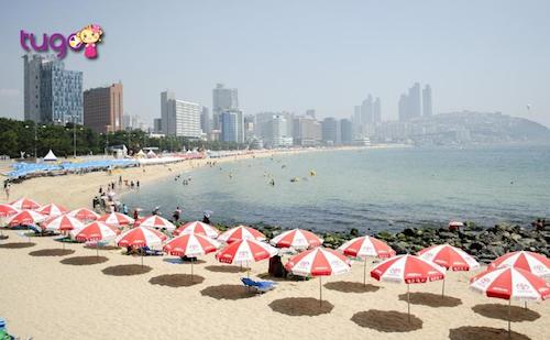 Bãi biển Haeundae – Busan cũng là một địa điểm được các nhà làm phim yêu thích trên màn ảnh Hàn Quốc