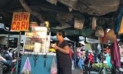 Hàng bún cà ri 20 năm trong chợ miền Tây
